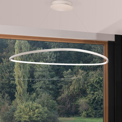 Slim Delta | Suspended lights | Sattler