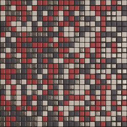Minimal Mix Colour XNBG402 rot | Ceramic mosaics | Appiani