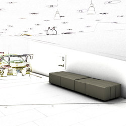 modul21-096 | Waiting area benches | modul21