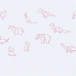 Origami | Wall art / Murals | INSTABILELAB