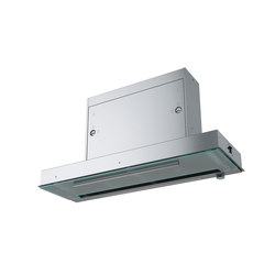 Maris Hood FMPOS 908 BI X Stainless Steel-Glass | Kitchen hoods | Franke Kitchen Systems