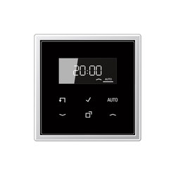 LB-Management | Timer Standard mit Display LS 990 | Fensterladen- / Jalousiesteuerung | JUNG