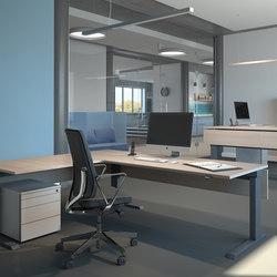 Argo-V Workstation FL3 | Bureaux individuels | Fleischer Büromöbelwerk