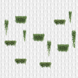 The Vertical Garden | Wall art / Murals | INSTABILELAB