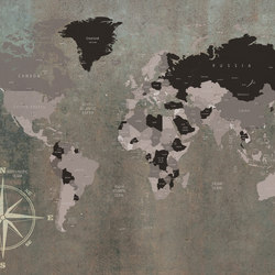 World Map | Quadri / Murales | INSTABILELAB