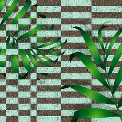Geometrie Vegetali Grid | Wandbeläge | GLAMORA