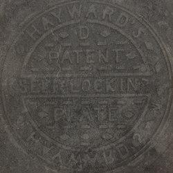 Italghisa | Impronte Antracite 60x60 cm | Ceramic tiles | IMSO Ceramiche