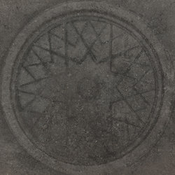Italghisa | Impronte Antracite 60x60 cm | Carrelage céramique | IMSO Ceramiche