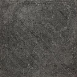 Italghisa | Impronte Antracite 60x60 cm | Baldosas de cerámica | IMSO Ceramiche