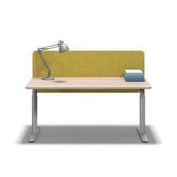 Flow Workstation | Scrivanie individuali | Fleischer Büromöbelwerk