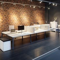 Globo Bench | Desking systems | Fleischer Büromöbelwerk
