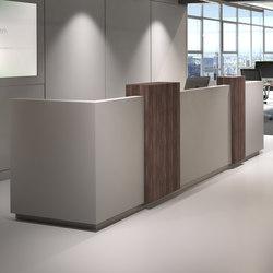 Modular Counter | Mostradores de recepción | Fleischer Büromöbelwerk