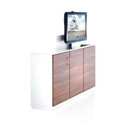 TV Sideboard | AV cabinets | Fleischer Büromöbelwerk