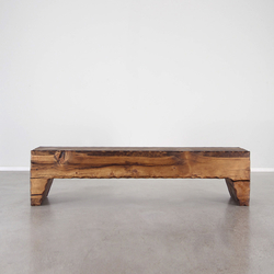 Taos Wood Bench | Bancos | Pfeifer Studio