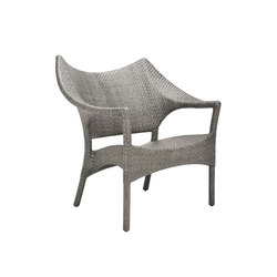 AMARI RATTAN LOW BACK LOUNGE CHAIR | Armchairs | JANUS et Cie