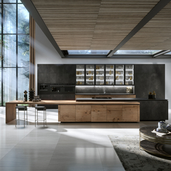 H01 Heartwood | Fitted kitchens | Snaidero USA