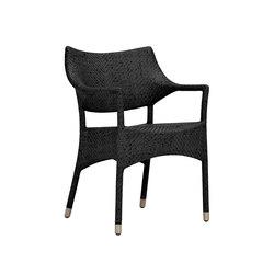 AMARI RATTAN PETITE ARMCHAIR | Chairs | JANUS et Cie