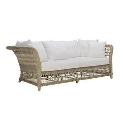 ARBOR CLUB SOFA 3 SEAT | Sofás de jardín | JANUS et Cie