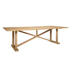 ARBOR GRANDE DINING TABLE RECTANGLE 289 | Restaurant tables | JANUS et Cie