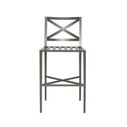 AZIMUTH CROSS BARSTOOL | Bar stools | JANUS et Cie