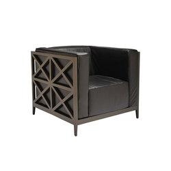 AZIMUTH CROSS CLUB CHAIR | Sessel | JANUS et Cie