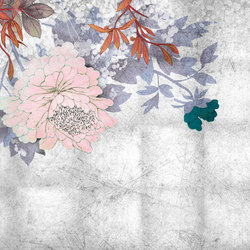Grand Bouquet | Carta parati / tappezzeria | Inkiostro Bianco