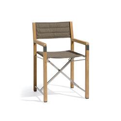 Cross chair teak   Sillas   Manutti
