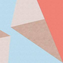 Polygons | Carta parati / tappezzeria | Inkiostro Bianco