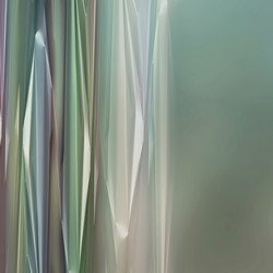 Light On a Prism Chroma | Bespoke wall coverings | GLAMORA