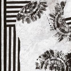 Black Lace | Carta parati / tappezzeria | Inkiostro Bianco