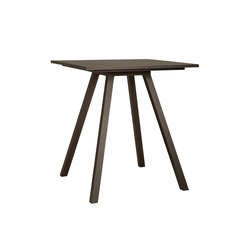 DOLCE VITA BAR TABLE SQUARE 100 | Tables hautes | JANUS et Cie