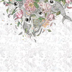 Fishes | Wall coverings / wallpapers | Inkiostro Bianco