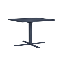 DUO CAFE TABLE SQUARE 95 | Canteen tables | JANUS et Cie