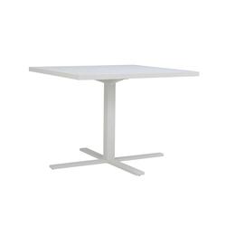 DUO CAFE TABLE SQUARE 95 | Tables de repas | JANUS et Cie