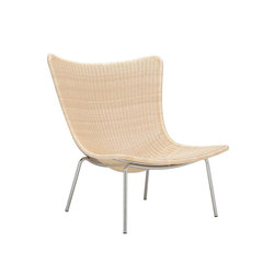 FIBONACCI AVA RATTAN LOUNGE CHAIR | Lounge chairs | JANUS et Cie