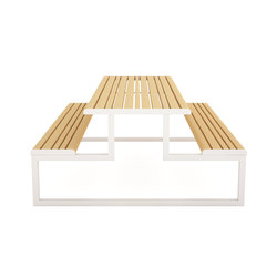 VENTIQUATTRORE.H24 PICNIC TABLE | Tables and benches | Diemmebi