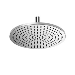 Rounded Generic - Rain shower with ceiling fixing | Shower controls | Dornbracht