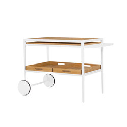 HATCH SERVING CART | Chariots | JANUS et Cie