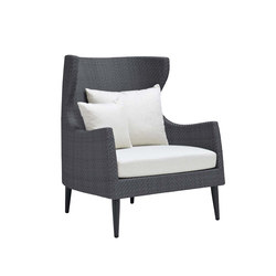 KATACHI HIGH BACK LOUNGE CHAIR | Poltrone | JANUS et Cie