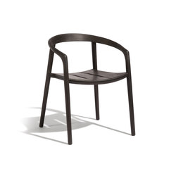 Solid armchair | Chaises | Manutti