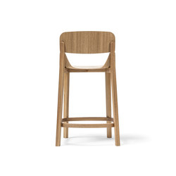 Leaf barstool low | Taburetes de bar | TON