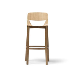 Leaf barstool high | Taburetes de bar | TON