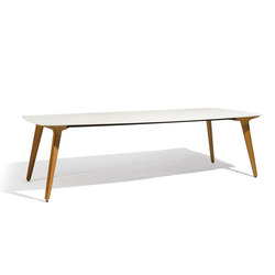 Torsa dining table 264x118 | Dining tables | Manutti