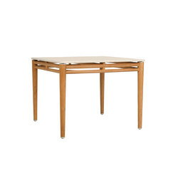 KONOS STONE TOP DINING TABLE SQUARE 100 | Restaurant tables | JANUS et Cie