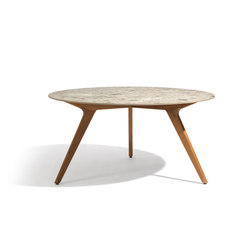 Torsa dining table ⌀148 | Mesas comedor | Manutti