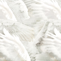 Wings | Carta parati / tappezzeria | Inkiostro Bianco