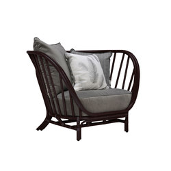 KYOTO RATTAN LOUNGE CHAIR | Sessel | JANUS et Cie