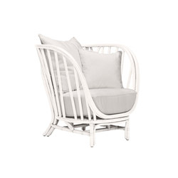 KYOTO RATTAN PETITE LOUNGE CHAIR | Lounge chairs | JANUS et Cie