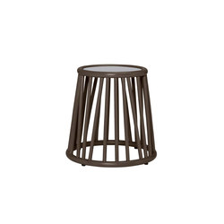 KYOTO RATTAN SIDE TABLE ROUND 46 | Side tables | JANUS et Cie