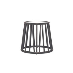 KYOTO RATTAN SIDE TABLE ROUND 51   Side tables   JANUS et Cie